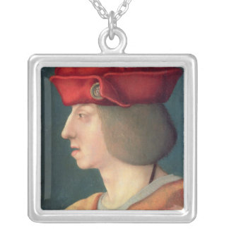 King Philip I `The Handsome' of Spain Silver Plated Necklace