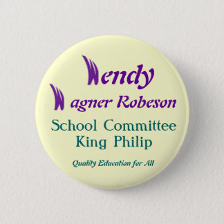 King Philip School 2 Inch Round Button