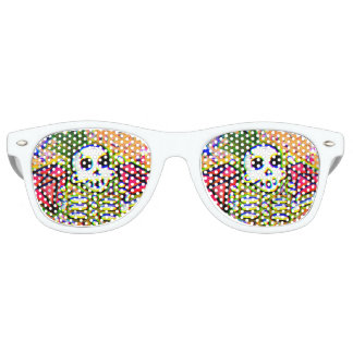 King pin skeleton retro sunglasses