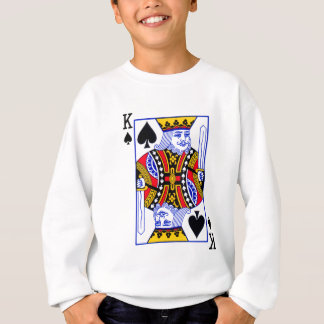 King Playing Card Sweatshirt