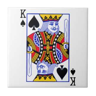 King Playing Card Tile