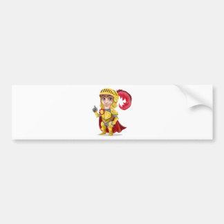 King Prince Armor Bumper Sticker