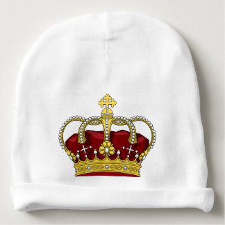 King Prince Crown Baby Boy Infant Beanie Hat Baby Beanie