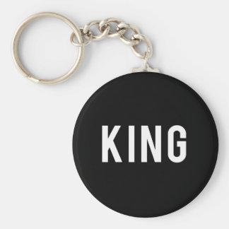King Print Keychain