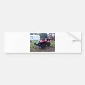 King Quad Bumper Stickers