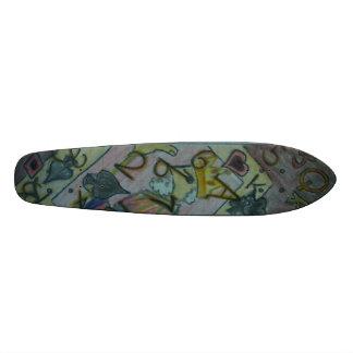 King Queen J Skateboard Deck