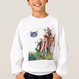 King & Queen of Hearts, Alice & the Cheshire Cat Sweatshirt