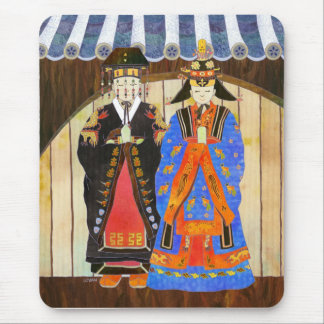 King & Queen's Wedding Mousepad