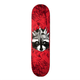 King Raccoon Skate Board Decks