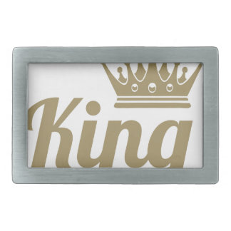 King Rectangular Belt Buckles