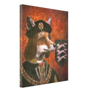 King Richard The Third Fox Canvas