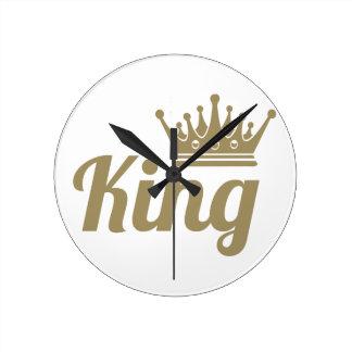 King Round Clock