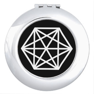 King (-) / Round Compact Mirror