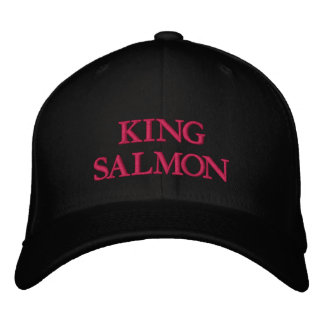 KING SALMON EMBROIDERED HAT
