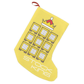 King Santa Small Christmas Stocking