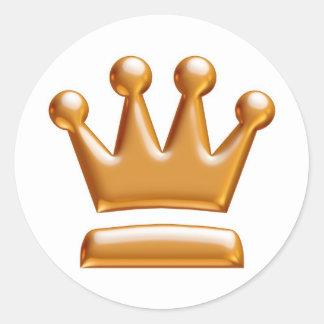 King Size Stickers..! Classic Round Sticker