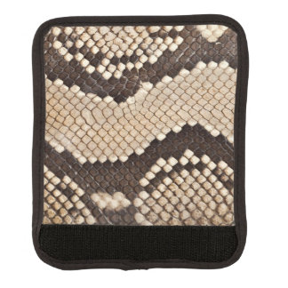 King Snake Skin Luggage Handle Wrap
