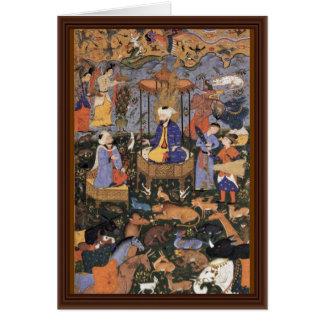 King Solomon By Persischer Meister Card