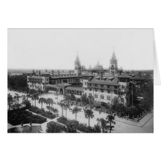 King Street, Ponce de Leon Hotel, St. Augustine Stationery Note Card