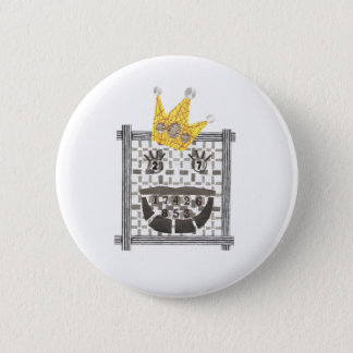 King Sudoku Badge 2 Inch Round Button