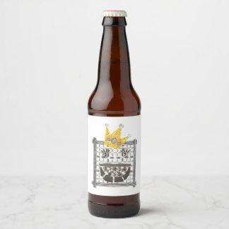 King Sudoku Beer Labels