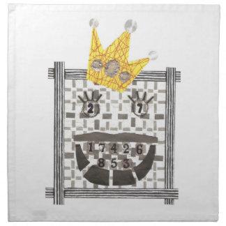 King Sudoku Cloth Napkins