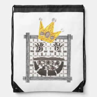 King Sudoku Drawstring Bag
