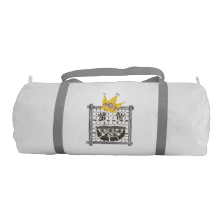 King Sudoku Duffle Gym Bag