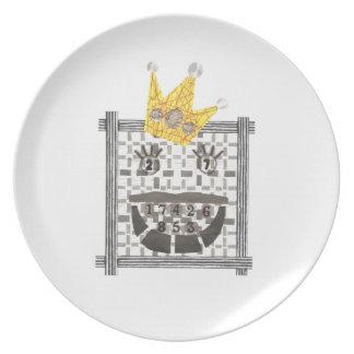 King Sudoku Melamine Plate