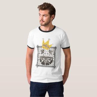 King Sudoku Men's Ringer T-Shirt