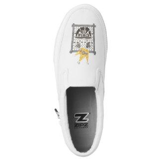 King Sudoku Men's Slip On Shoes