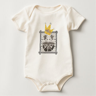 King Sudoku Organic Babygro Baby Bodysuit