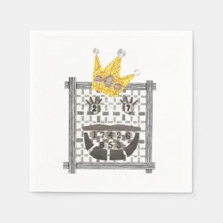 King Sudoku Paper Napkins