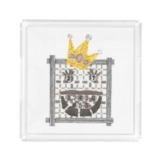 King Sudoku Perfume Tray