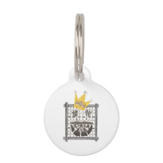 King Sudoku Pet Tag
