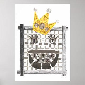 King Sudoku Poster