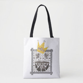 King Sudoku Tote Bag