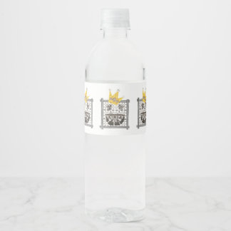 King Sudoku Water Labels