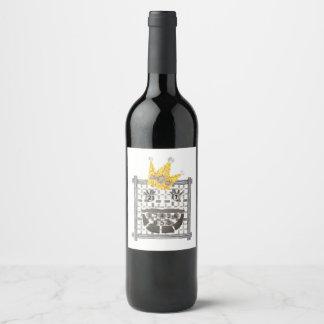 King Sudoku Wine Labels