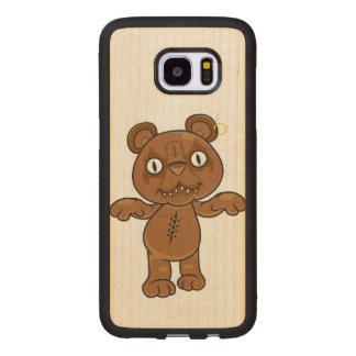 King Teddy Wood Samsung Galaxy S7 Edge Case