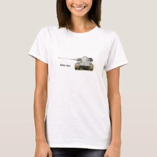 King Tiger t-shirt, white, for men, women, or kids T-Shirt