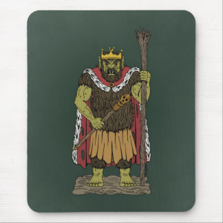 King Troll Mouse Pad