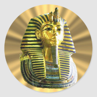 King Tut #2 Classic Round Sticker