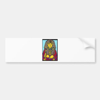king tut bumper sticker