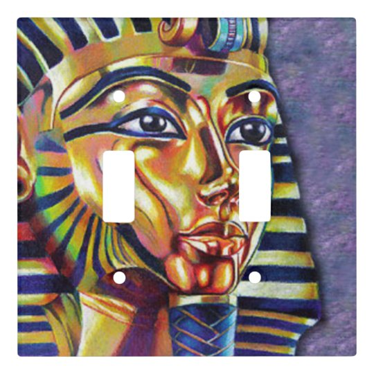 King Tut Light Switch Cover