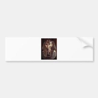 King Tut mask Bumper Sticker