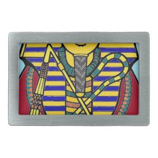 king tut rectangular belt buckle