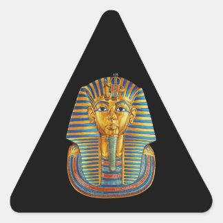King Tut Triangle Stickers