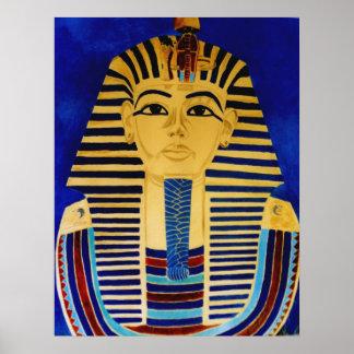 King Tut Tutankhamun Ancient Egypt Art Print
