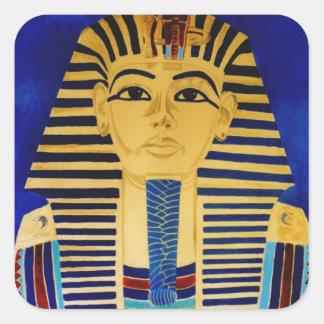 King Tut Tutankhamun art sticker